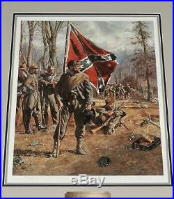 Don Troiani Confederate Standard Bearer Museum Framed Civil War Print