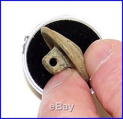 Dug CIVIL War Confederate Cast Brass I Button #2