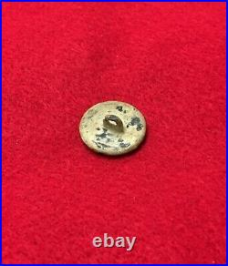 Dug CS Pewter Infantry Civil War Military Button Confederate Howlett Line