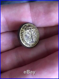Dug Civil War Confederate South Carolina Cadet button Vest Size