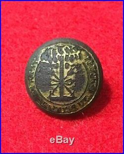Dug Civil War Relic Confederate South Carolina Vest Size Button Cold Harbor VA