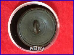 Dug Civil War Relic Confederate William Byrd Infantry Button-RARE