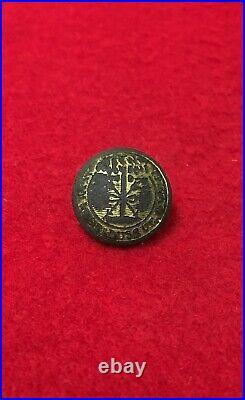 Dug Confederate Civil War South Carolina Military Button Relic Cold Harbor VA
