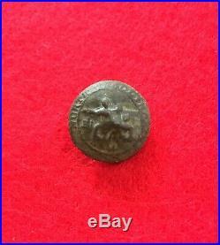 Dug North Carolina Confederate Civil War Coat Button Relic CS Camp Petersburg VA