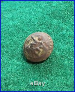 Dug North Carolina Confederate Civil War Coat Button Relic W Wildt Petersburg VA
