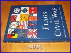 FLAGS OF THE CIVIL WAR Union & Confederate Flag Banners Banner History Book