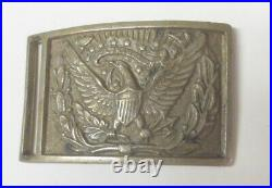 Fine Civil War M1851 eagle sword belt plate, Union and Confederate used