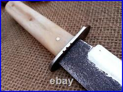 Forged Sheffield Bowie Confederate CIVIL War Combat Knife Cowboy Montain Man
