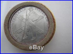 Franklin Mint Civil War Checkers Pieces Set Confederate Union Battles 22 Count