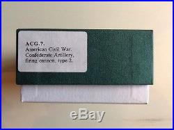 Frontline ACG. 7 American Civil War Confederate Artillery Firing Cannon Gun & Cre