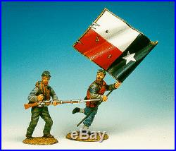 Frontline American Civil War Confederate Infantry Charging Set #2 ACI4 ACW