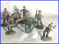 Frontline Figures A. C. G. 1. U. S. Civil War Confederate Artillery firing cannon