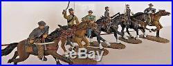 Frontline Figures American Civil War BRC. 2 Confederate Cavalry Troopers 7-12
