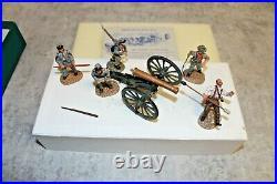 Frontline Figures American Civil War Confederate Artillery Firing Cannon ACG. 1