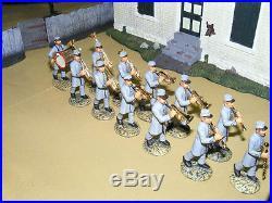 Frontline Figures, Südstaaten Band marschierend, Civil War Confederate Band CB1