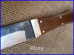 Gaucho Knife Coffin Bowie Confederate CIVIL War Combat Cowboy Montain Man Fight