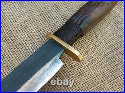 Gaucho Knife Forged Bowie Confederate CIVIL War Combat Cowboy Montain Man Edc