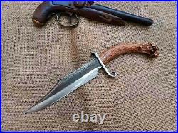 Gaucho Knife S Guard Bowie Confederate CIVIL War Combat Cowboy Montain Man