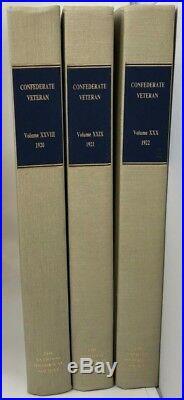 HC Bound 17 Vol + 3 Index Book Set CONFEDERATE VETERAN 1893-1925 Civil War