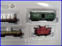 HO Scale Bachmann Train Set 00709 Civil War-Confederate Steam Train Set