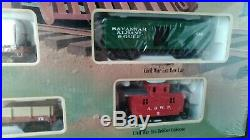 Ho bachmann Civil war confederate train set Atlanta & West point No. 00709