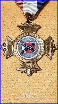 Investment Grade Civil War Confederate Nashville TN Reunion medal, Excellent