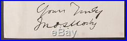 John S. Mosby, Signed Photographic Print Confederate CIVIL War Gray Ghost
