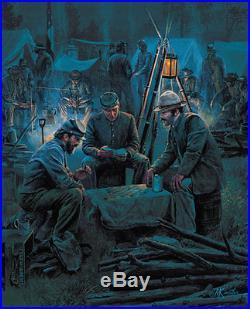KÜNSTLER American Civil War LETTER FROM HOME Confederate South & 4 Bonus Prints