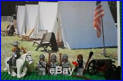 LEGO Civil War Robert E Lee & Confederate Army Soldier. NEW 100% Genuine LEGO