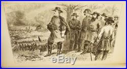 LIFE OF GENERAL ROBERT E. LEE 1875 civil war CSA confederate MAPS ILLUS VG+ RARE