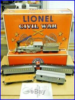 Lionel 6-21901 Civil War Confederate Train Set 1999 LN in Set Box withGeneral Loco