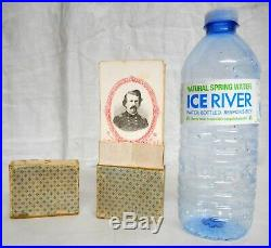 Lot of 48 MAGNUS CIVIL WAR CDV CARDS Confederate Military Officers Original Box