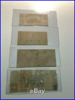 Lot of Alabama Civil War Confederate Currency