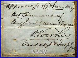 Louisiana CIVIL War Avoyelles Parish Confederate Furlough