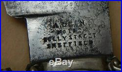 Louisiana PELICAN Marked 8 Confederate C. S. A. UK-Made Civil War era Bowie Knife