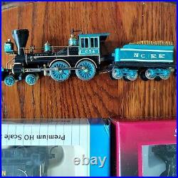 MANTUA/TYCO HO Civil War Custom Painted Confederate North Carolina RR Train Set