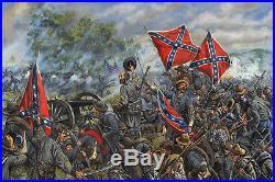 Maritato Civil War THE ANGLE Gettysburg Confederate S/N A/P Paper Art Print #1