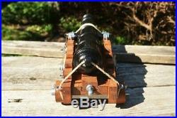 Miniature Civil War Naval Cannon Confederate Union Pirate Denix Replica