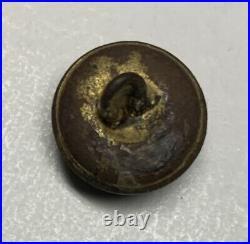 Mississippi Local Confederate Civil War Cuff Button