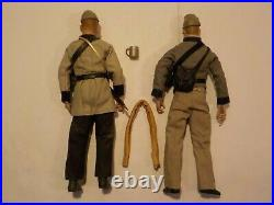 N 1/6 12 Sideshow Brotherhood of Arms Civil War Confederate Infantry Figure Lot