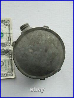 Nice Small 4 1/2 Diameter Civil War Confederate Canteen, CSA
