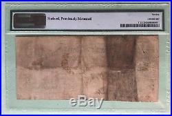 ORIGINAL Hand Signed Civil War 1861 Confederate $5 Rare T-32 Note PMG 12 FINE