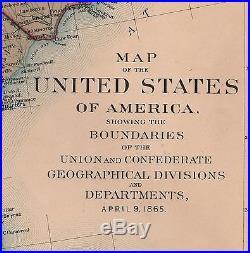 Civil War Map Of Us Globalinterco - Us civil war map geographic image