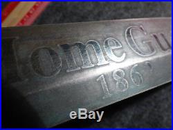 Original Civil War Confederate Knife SC Home Guard Courtney & Tennent Charleston