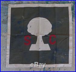 Original Confederate Reunion Banner South Carolina Palmetto Tree Civil War