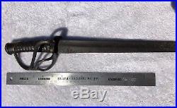 Original Rare Maker Civil War 1840 Style CSA Confederate Cavalry Saber