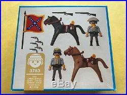 PLAYMOBIL 3783 Civil War New-in-sealed-box, NISB Confederate Calvary NEW