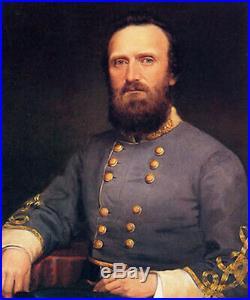 Painting Confederate Stonewall Jackson America Civil War Virginia Old Blue Light