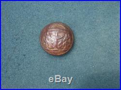 Perfect Dug Civil War Confederate Georgia State Seal Coat Button Savannah, Ga. 2