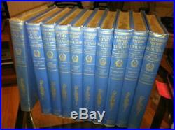 Photographic History Civil War 1911 Review 10 Volume Set Union Confederate HC